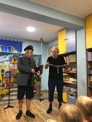 """Galeria """"Bezpieczny Przedszkolak"""" - teatrzyk"""